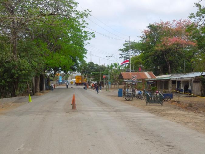 Penas Blancas border crossing between Costa Rica and Nicaragua