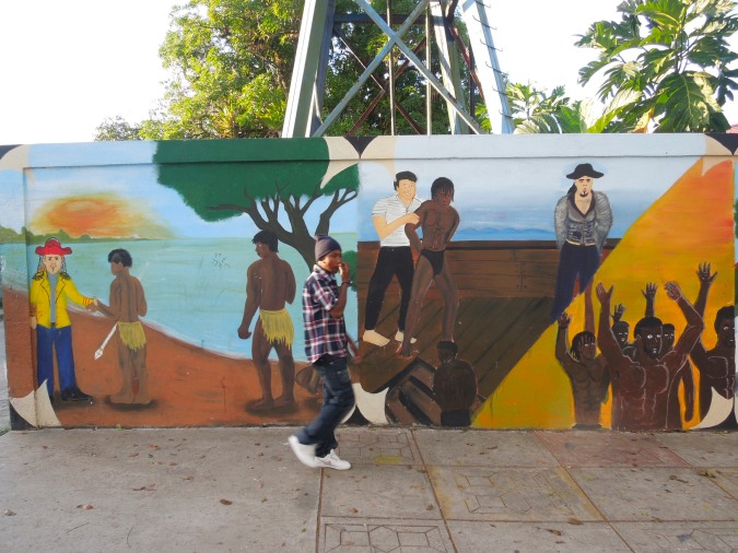 The History of Bluefields in street art, Nicaragua