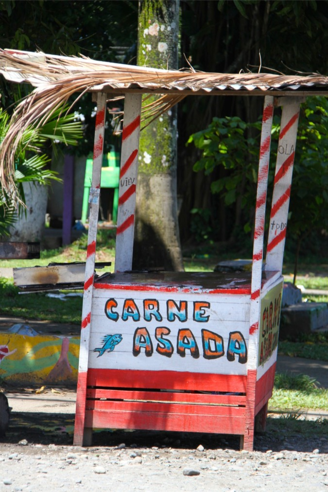 Food stall, Cahuita, Costa Rica