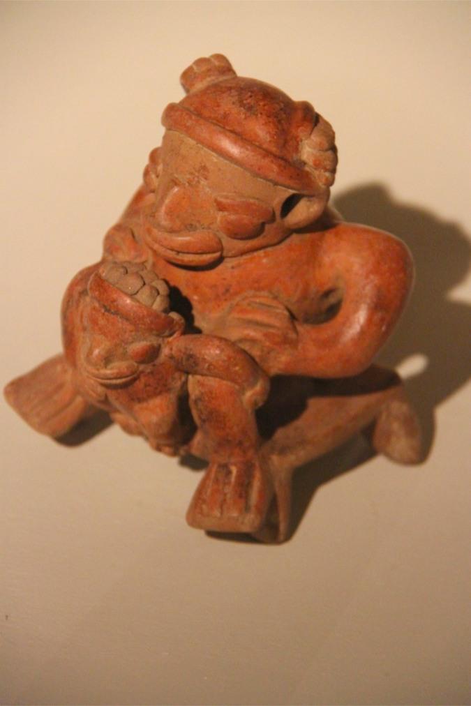 Fertility symbol, Museo de Jade, San Jose, Costa Rica