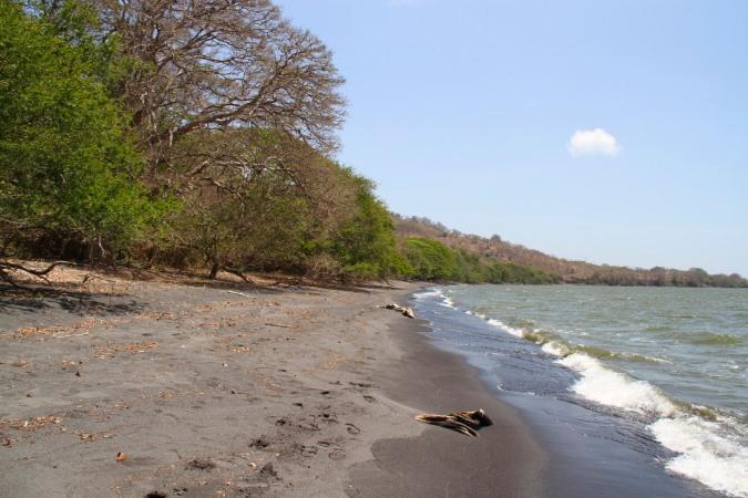Playa Bancon, Isla de Ometepe, Nicaragua