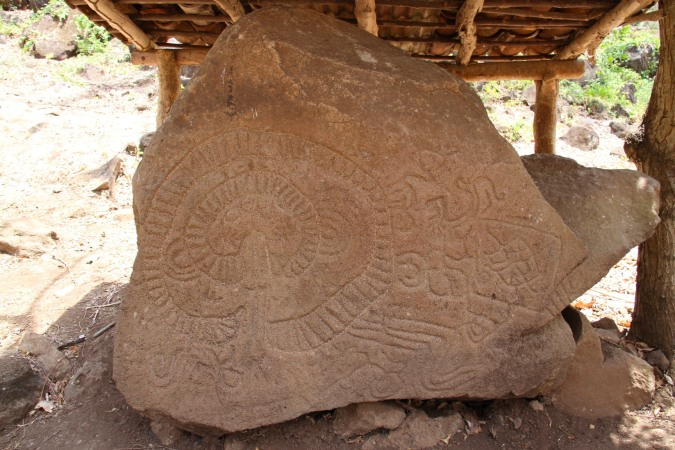 Pre-Hispanic petroglyphs, Isla de Ometepe, Nicaragua