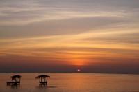Sunset from Moyogalpa, Isla de Ometepe, Nicaragua