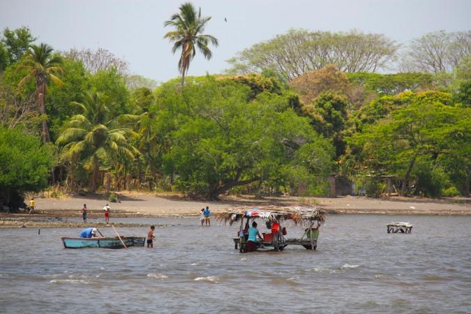 Waterfront at Moyogalpa, Isla de Ometepe, Nicaragua