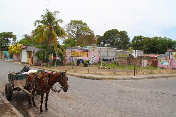 Horse and cart, Granada, Nicaragua