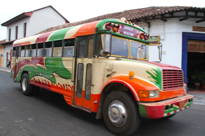 Bus, Granada, Nicaragua