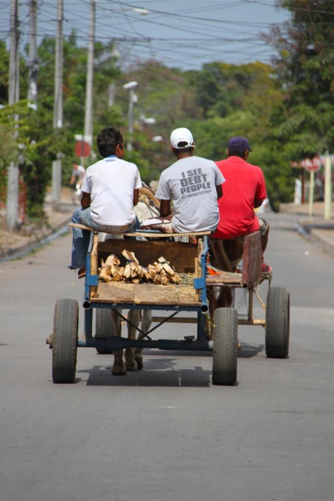 Horse-drawn transport, Granada, Nicaragua