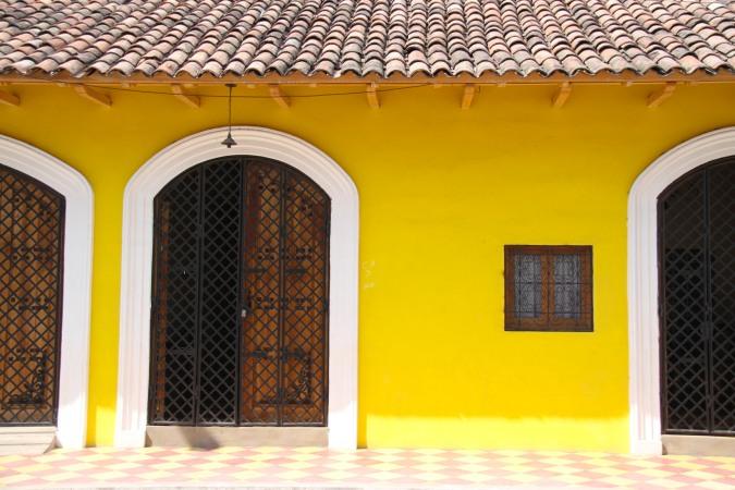 Historic building, Granada, Nicaragua