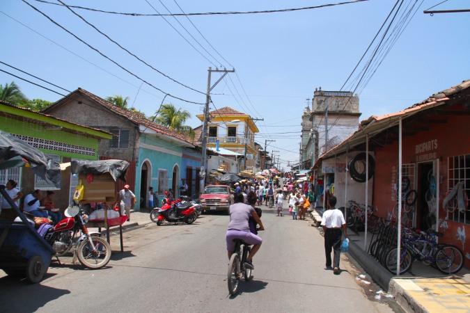 Street through the Mercado Municipal. Granada, Nicaragua