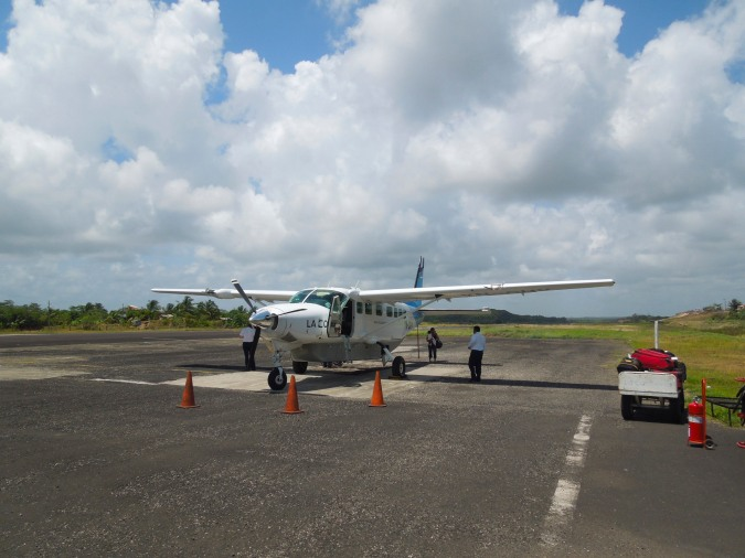 The airport at Bluefields, Nicaragua