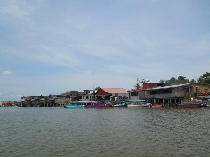 San Carlos sits at the confluence of the Rio San Juan and Lago Nicaragua, Nicaragua