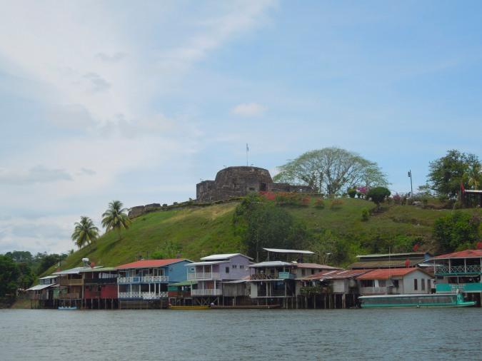 El Castillo from the Rio San Juan, Nicaragua
