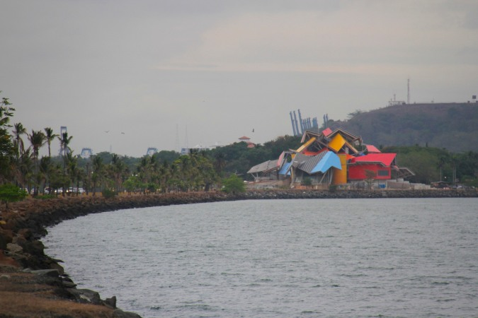 Frank Gehry building in Panama City, Panama