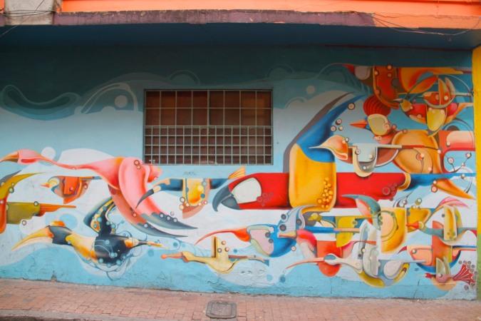 Street art, Bogota, Colombia