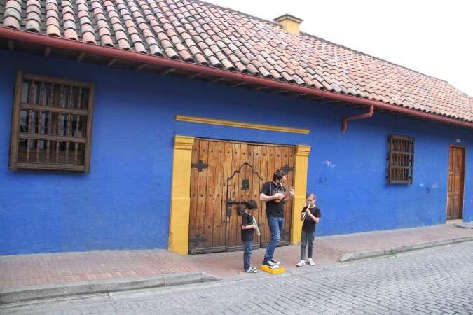 Musicians, Bogota, Colombia