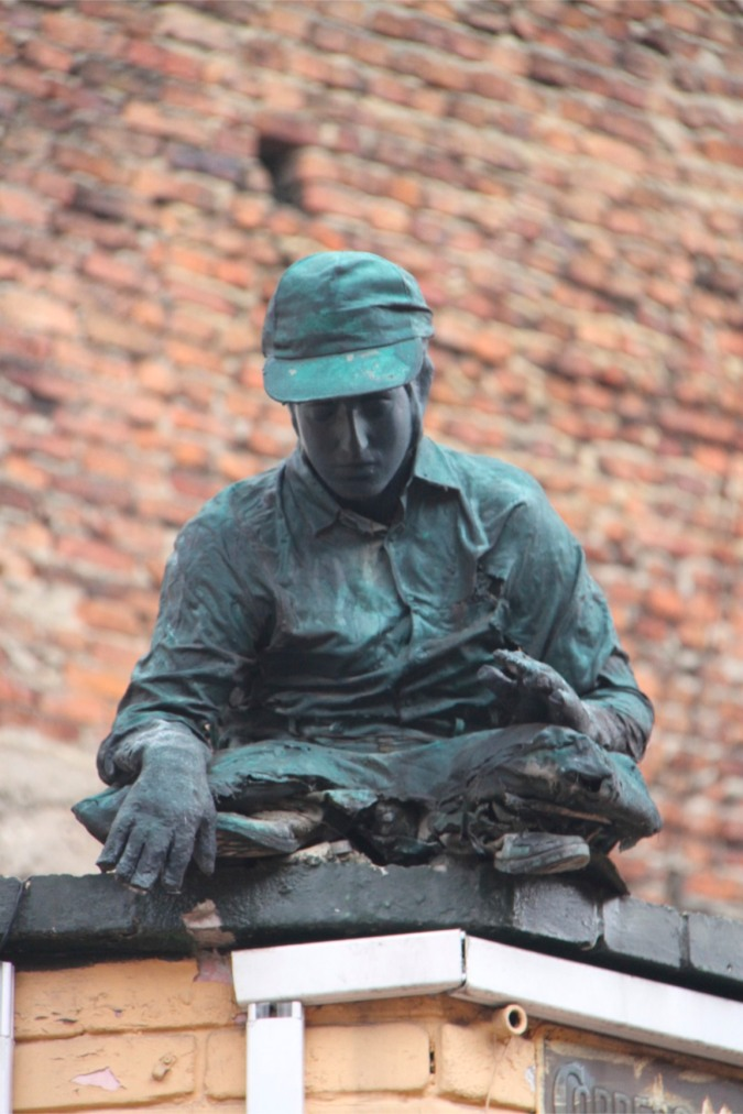 Sculpture, Bogota, Colombia