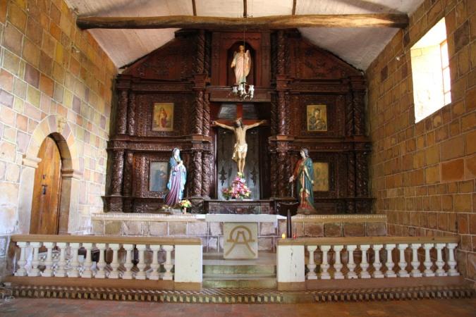Capilla de Jesus Resucitado, Barichara, Colombia