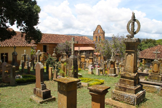 Cemetery of the Capilla de Jesus Resucitado, Barichara, Colombia