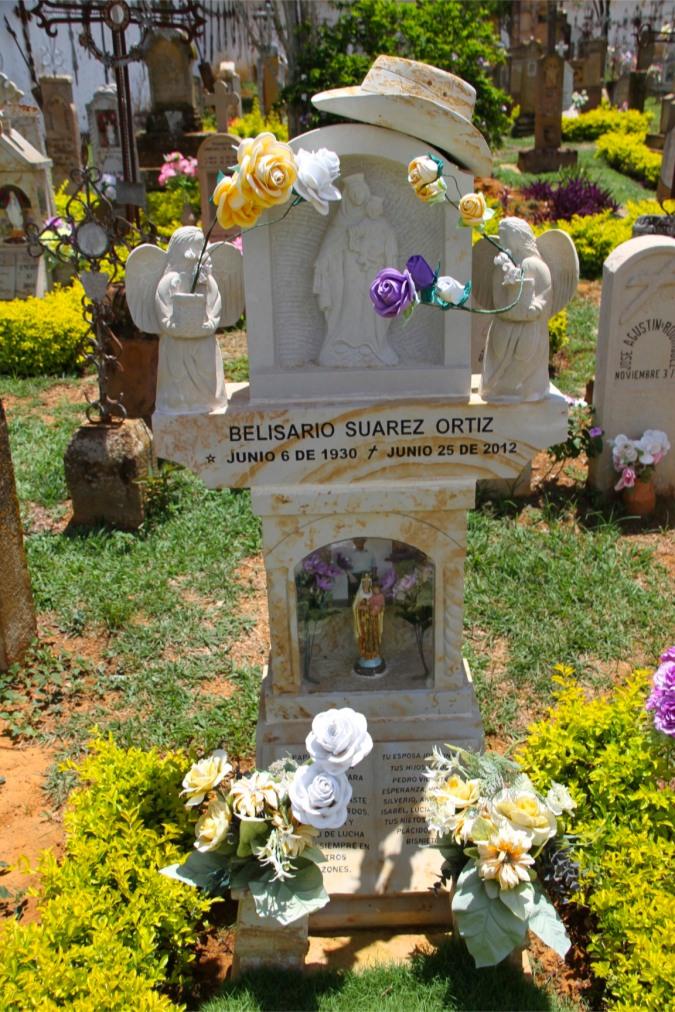 Cemetery of the Capilla de Jesus Resucitado, Barichara, Colombia