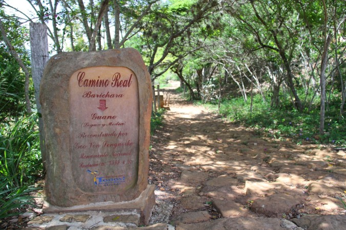 El Camino Real in Barichara, Colombia
