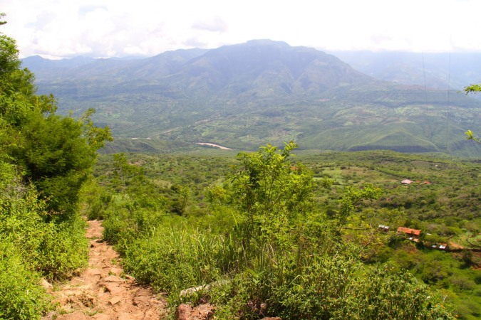 El Camino Real between Barichara and Guane, Colombia