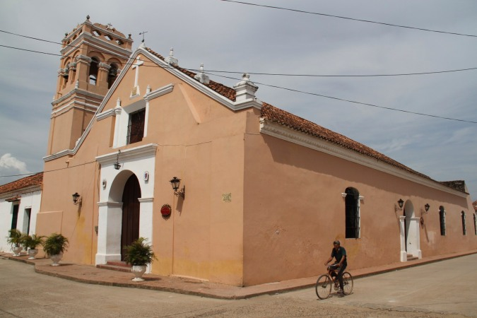 Church in Mompox, Colombia