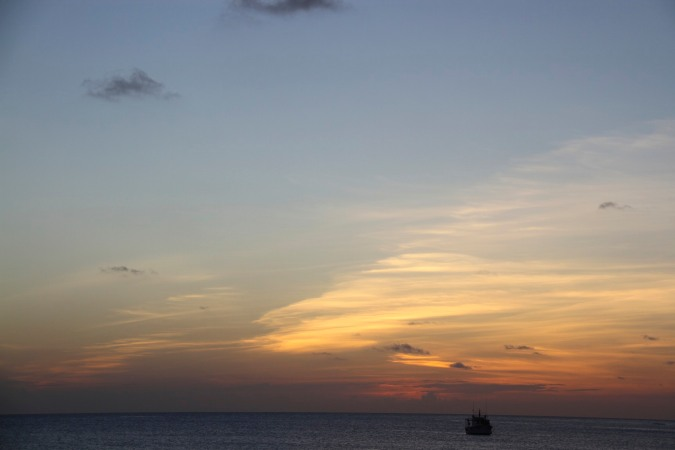 Sunset, Little Corn Island, Corn Islands, Nicaragua