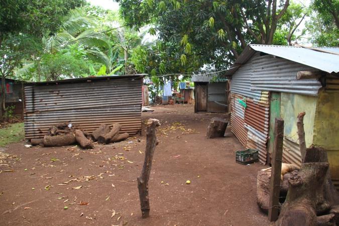 Houses, Little Corn Island, Corn Islands, Nicaragua