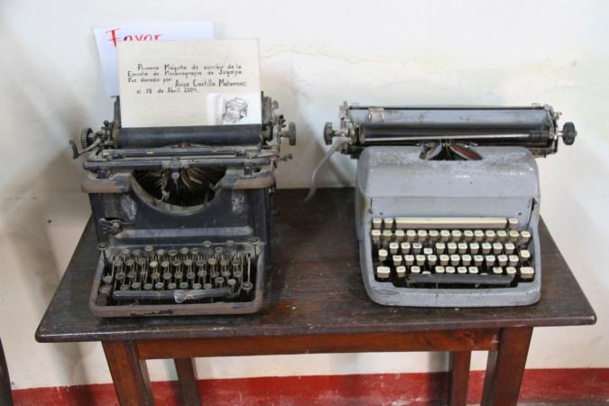 Typewriters, Juigalpa Museum, Nicaragua