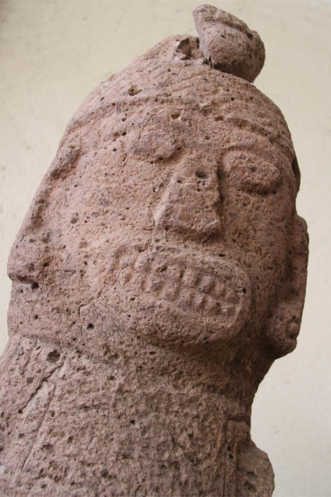 Pre-Hispanic sculpture, Juigalpa Museum, Nicaragua