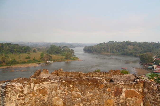 The Rio San Juan from the Spanish fort at El Castillo, Nicaragua