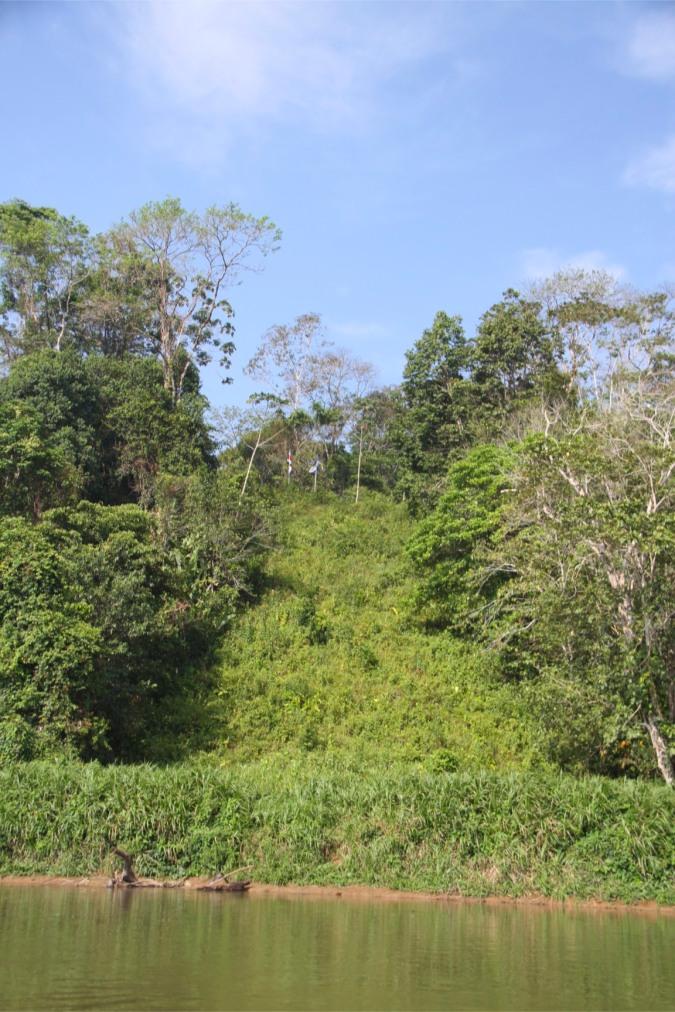 Border between Costa Rica and Nicaragua, Rio San Juan, Nicaragua