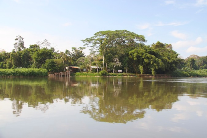 Entrance to Reserva Biologica Indio-Maiz, Nicaragua