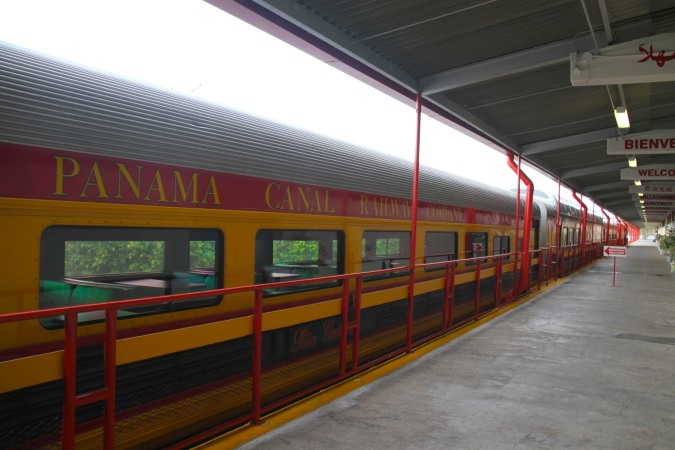 Train, Panama Canal Railway, Panama City, Panama