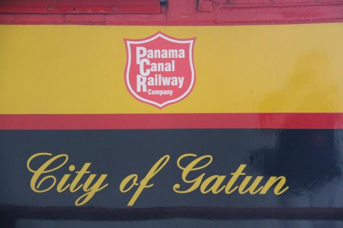 The City of Gatun, Panama Canal Railway, Panama City, Panama