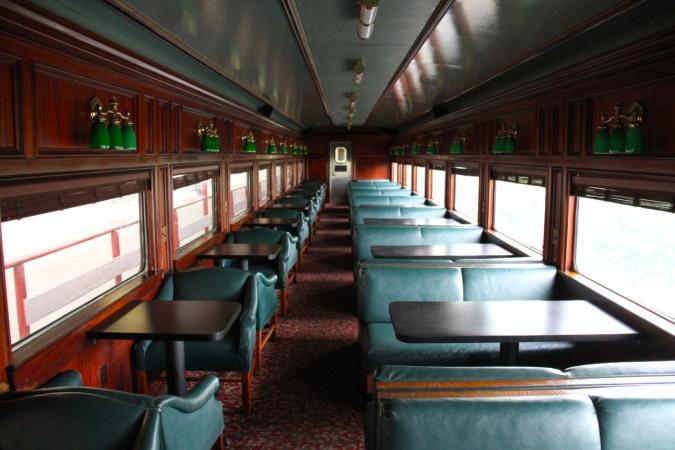 Carriage, Panama Canal Railway, Panama City, Panama