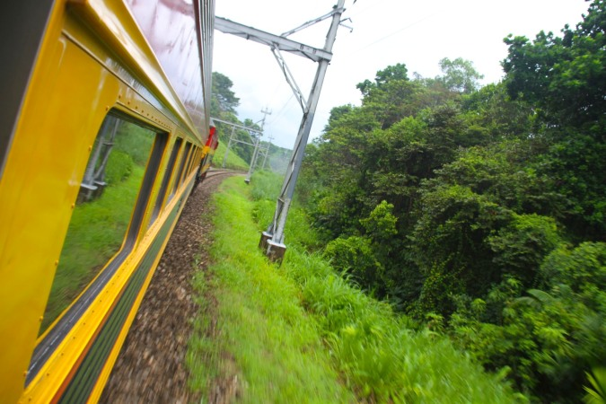 The Panama Canal Railway, Panama