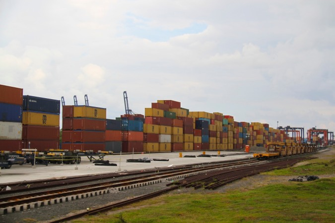 Global trade in a box, the Panama Canal Railway, Panama