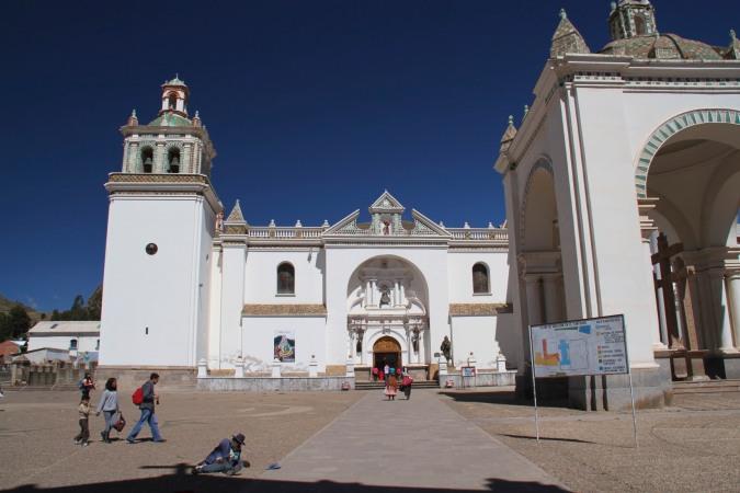 Copacabana cathedral, Bolivia