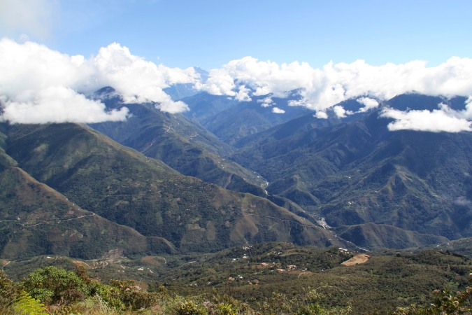 Views from Cerro Uchumanchi, Coroico, Bolivia