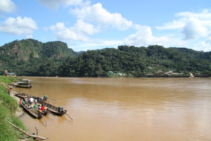The Rio Beni in Rurrenabaque, Bolivia