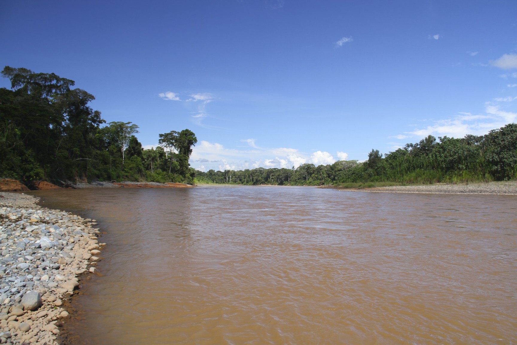 Rio Tuichi, Amazon, Bolivia