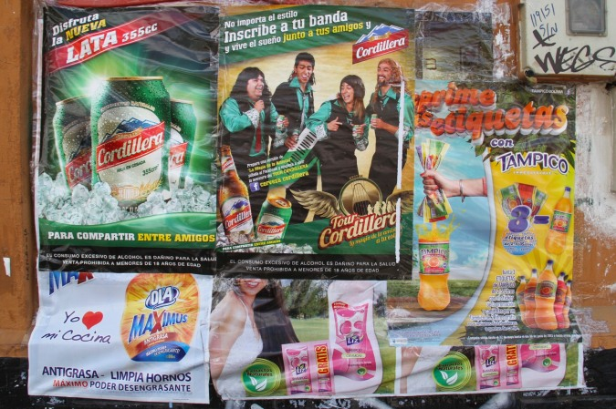 Posters, La Paz, Bolivia