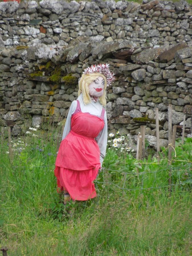 Scarecrow, near Kirkby Lonsdale, Cumbria, England