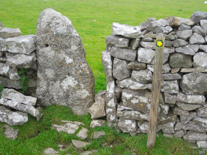 Traditional stile, near Kirkby Lonsdale, Cumbria, England