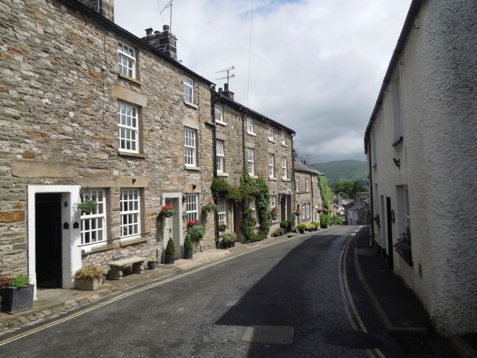 Houses in Kirkby Lonsdale, Cumbria, England