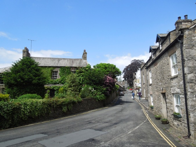 Houses, Kirkby Lonsdale, Cumbria, England