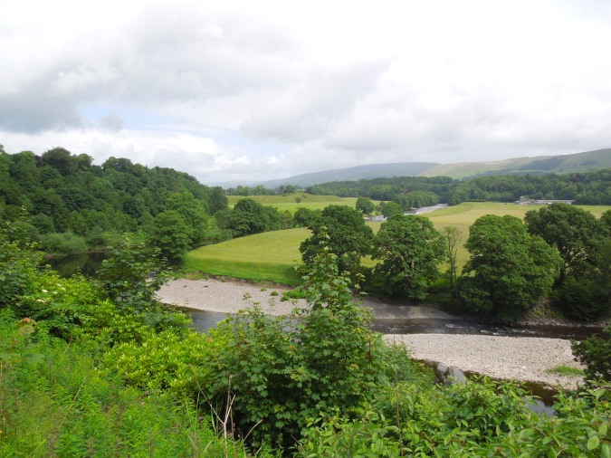 Ruskin's View, Kirkby Lonsdale, Cumbria, England