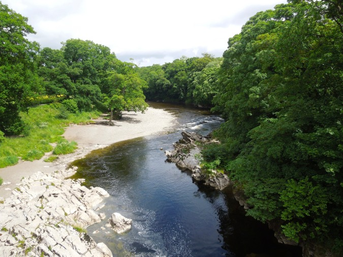 River Lune, Kirkby Lonsdale, Cumbria, England