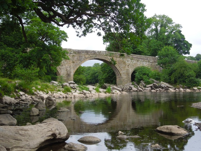 The Devil's Bridge over the River Lune, Kirkby Lonsdale, Cumbria, England